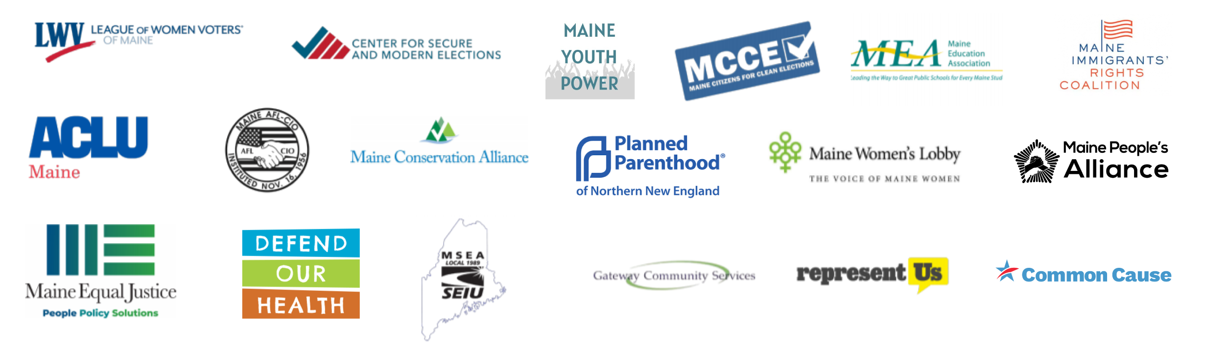 Logos of the MME Coalition Members
