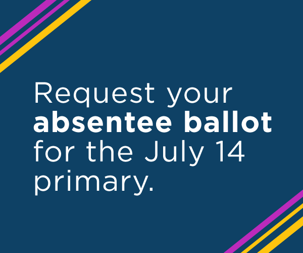 Vote Absentee for July 14